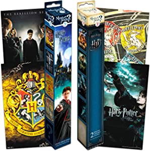 Wizarding World of Harry Potter Poster Mystery Set ~ Bundle Includes 4 Harry Potter Wall Posters (Harry Potter Room Decor for Kids Teens Adults)