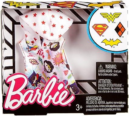 Barbie DC Comics Blue Fashion Supergirl Top Dolls