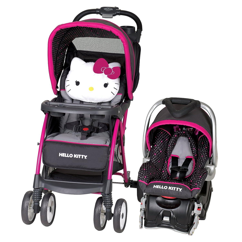 Amazon Baby Trend Hello Kitty Venture Travel System Polka Dot