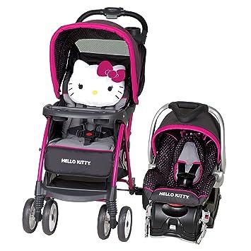 Baby Trend Hello Kitty Venture Travel System Polka Dot