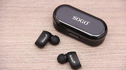 Sogo Auriculares inalámbrico Bluetooth aur-ss-8155