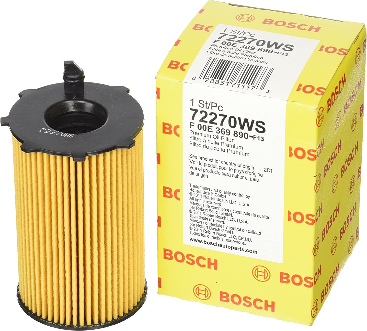 Bosch 72218WS Workshop Oil Filter