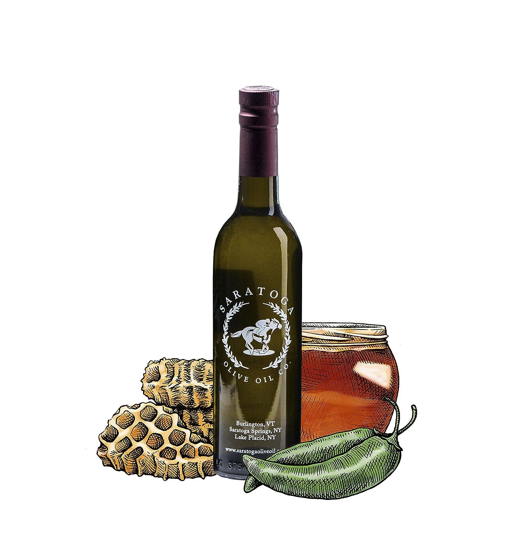 Saratoga Olive Oil Company Serrano Honey Vinegar 375ml (12.7oz)