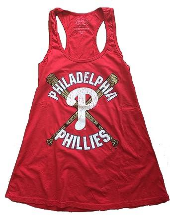 Amazon.com  Womens Majestic Threads Philadelphia Phillies Tank Top ...