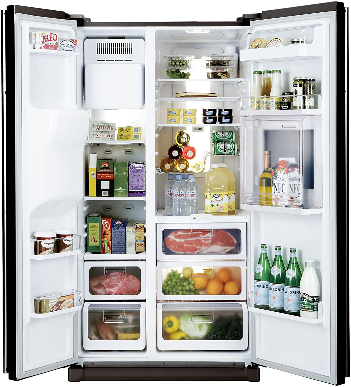Samsung 585 L In Frost Free Double Door Refrigerator Rs21hzlmr1