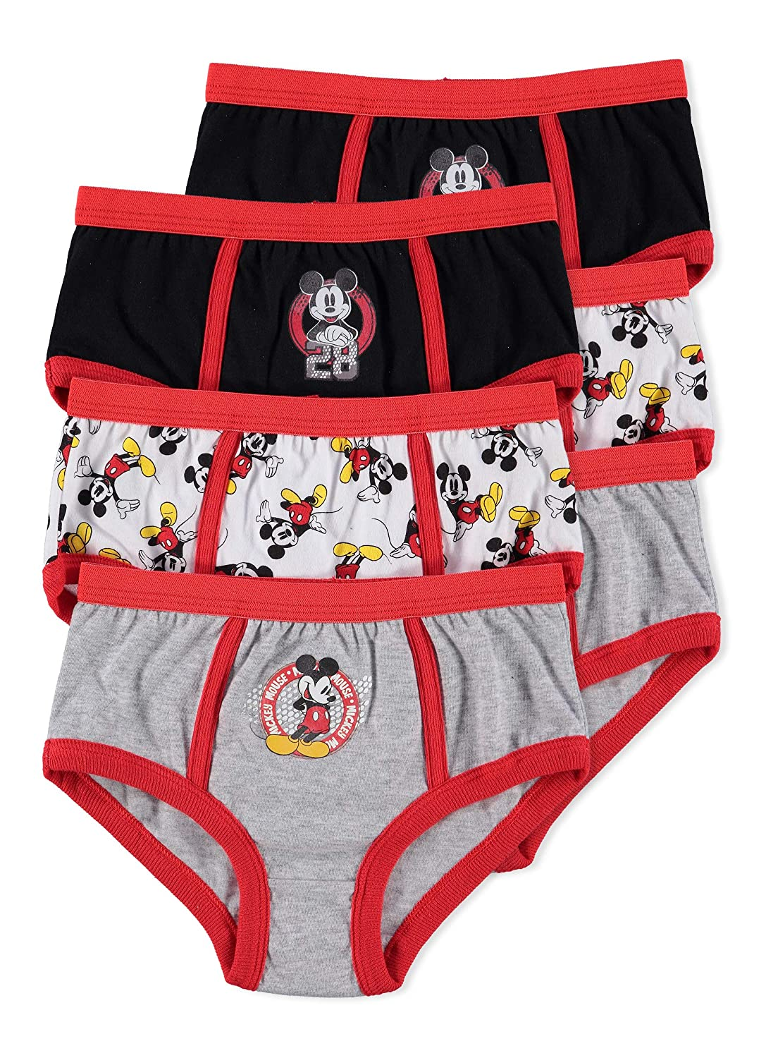 Disney Mickey Mouse Boys Underwear | Briefs 6-pack Jellifish Kids