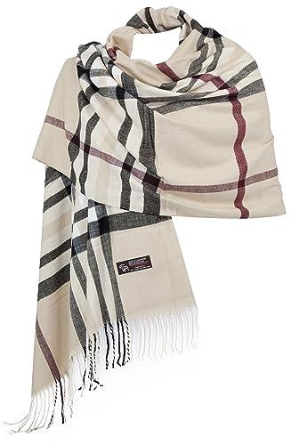 RW Fashion, sciarpa delle donne - ha rubato,sciarpa a scacchi, sciarpa di cachemire, classico Cashme...