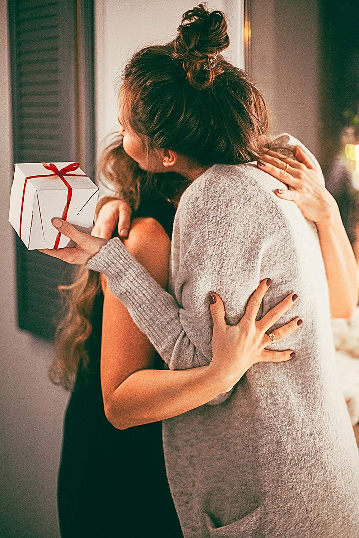 regolabile con glitter regalo per San Valentino oro ros/é zirconi Bracciale da donna