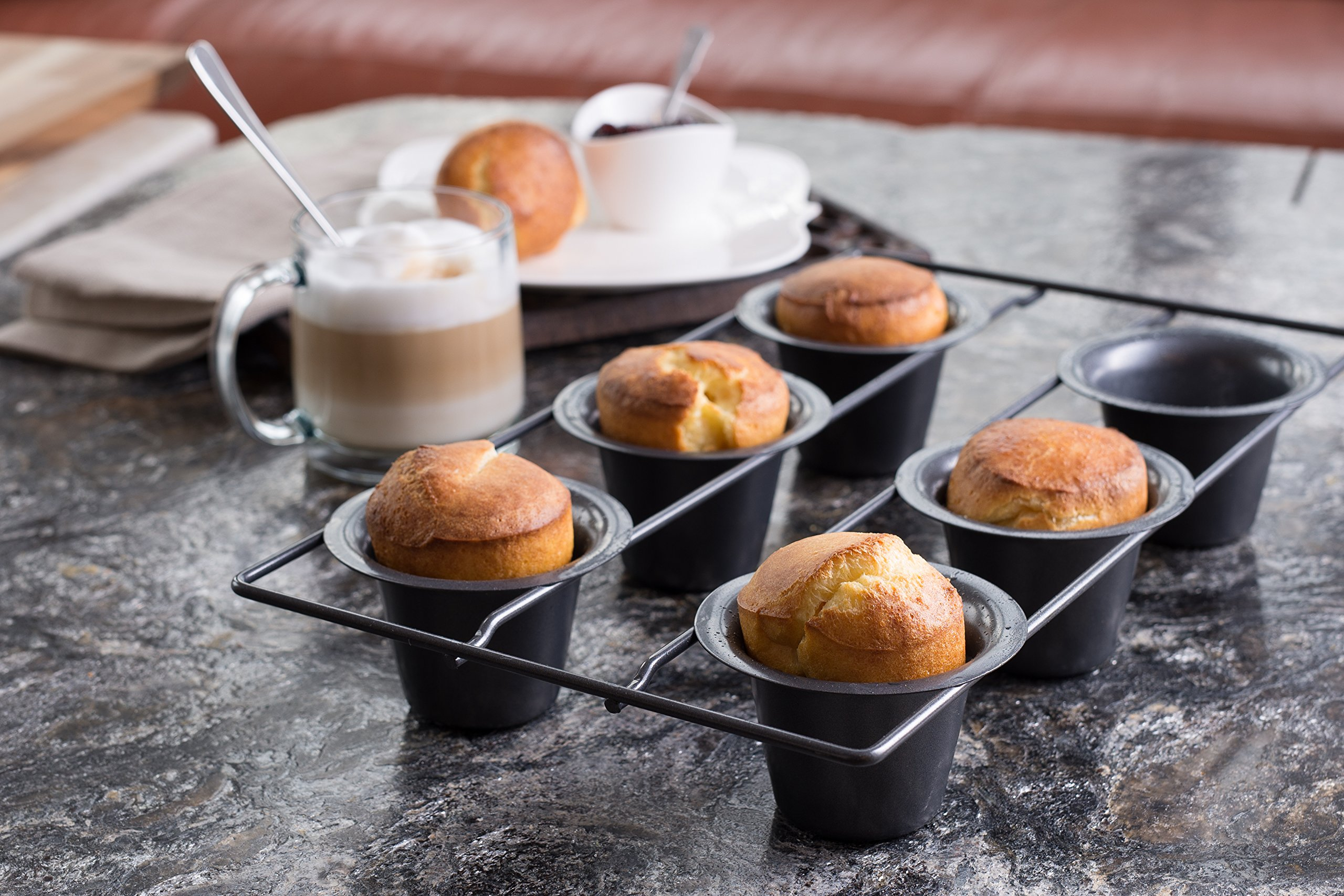 Bellemain 6 Cup Nonstick Popover Pan by Epica (Image #2)