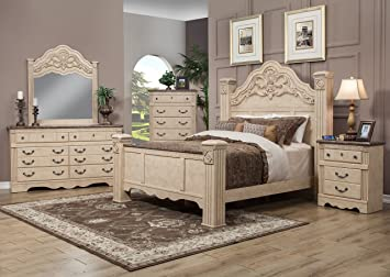 Amazon.com: Sandberg Furniture Amalfi Estate Bedroom Set ...