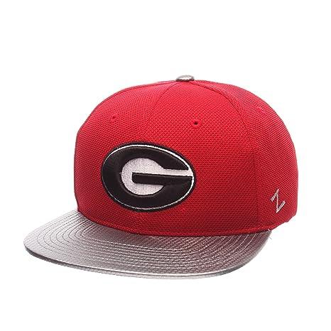1169595c Amazon.com : ZHATS NCAA Georgia Bulldogs Men's Composite Snapback Cap,  Adjustable Size, Red : Sports & Outdoors