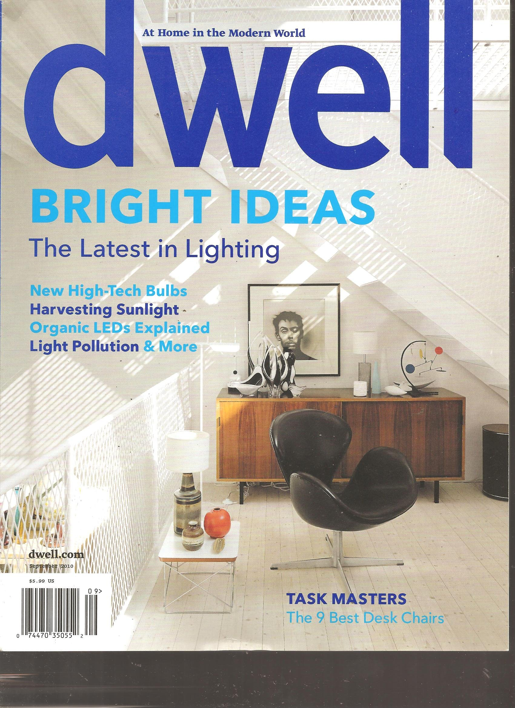 Download Dwell Magazine (Bright Ideas the latest in lighting, September 2010) pdf epub