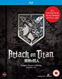 Attack On Titan: Complete Season One Collection (4 Blu-Ray) [Edizione: Regno Unito] [Import anglais]