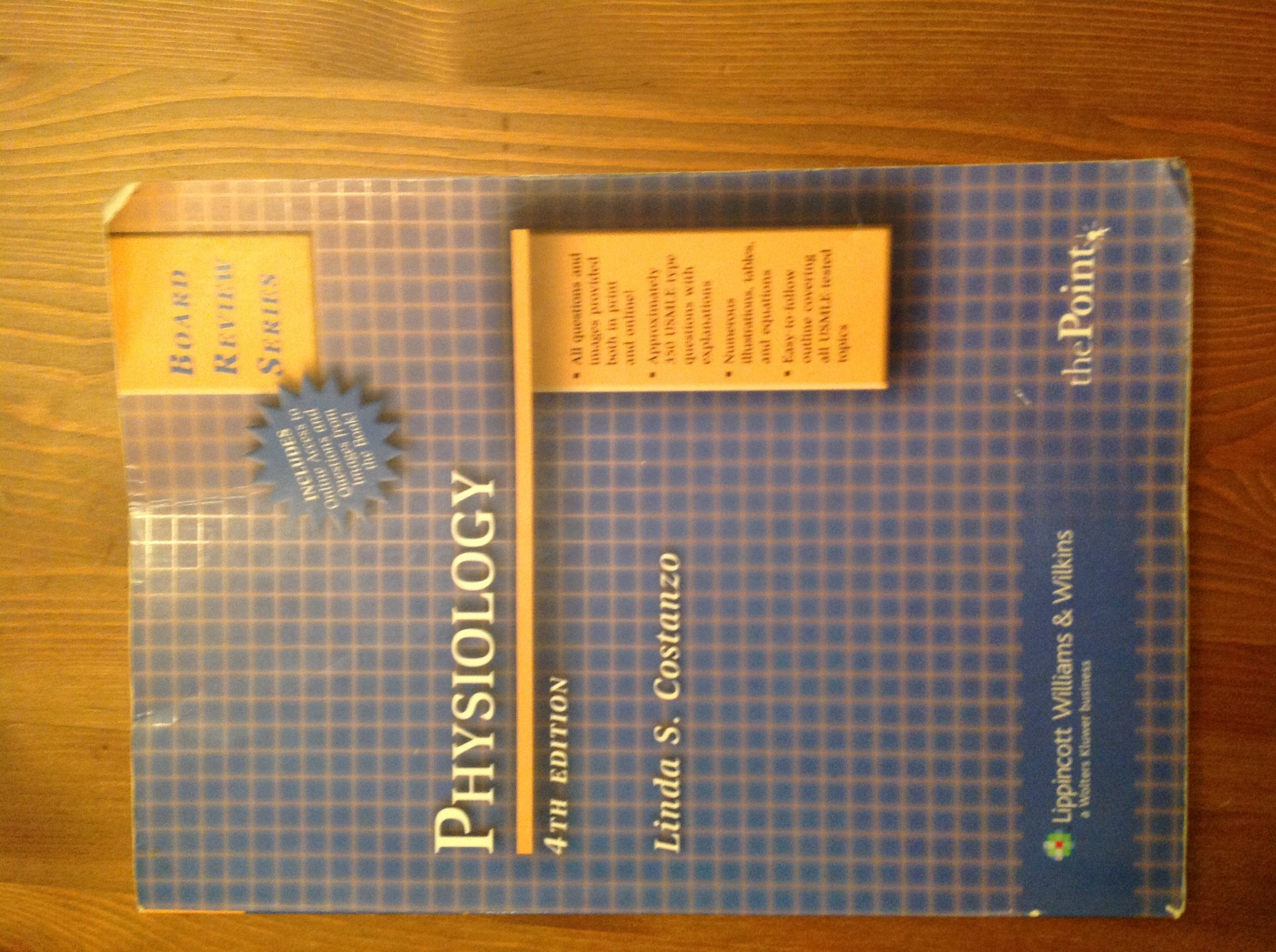 Buy BRS Physiology (Board Review Series) Book Online at Low Prices ...