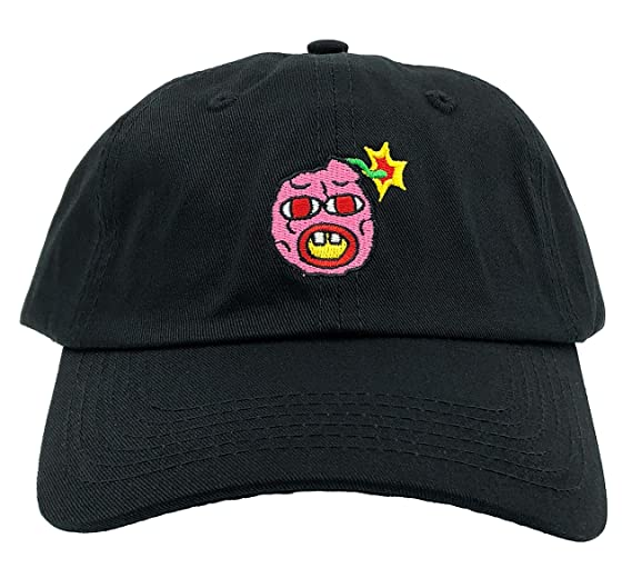 Cherry Bomb Hat Wolf Dad Hat Gang Bee Golf Baseball Cap Adjustable  Embroidered (Black) f92b035e6735