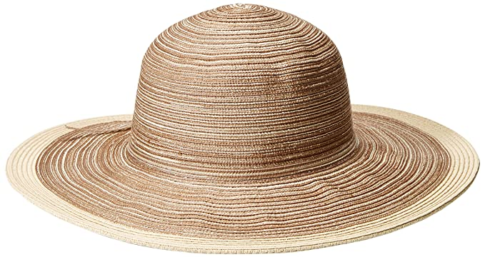 San Diego Hat Company Women s 4-Inch Brim Sun Hat with Self Tie Contrast fc38ee5d0bf