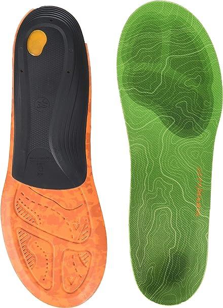 8.5-10 US Womens//7.5-9 US Mens Superfeet Green Premium Insoles,Green,D