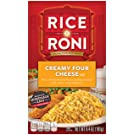 RICE-A-RONI CREAMY FOUR CHEESE-12 PACK