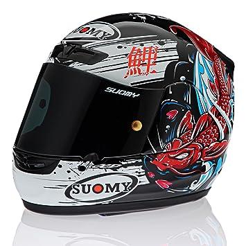Suomy Apex Japón rojo casco