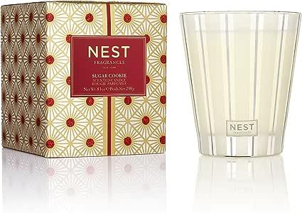 Amazon.com: NEST Fragrances Classic Candle- Sugar Cookie ...