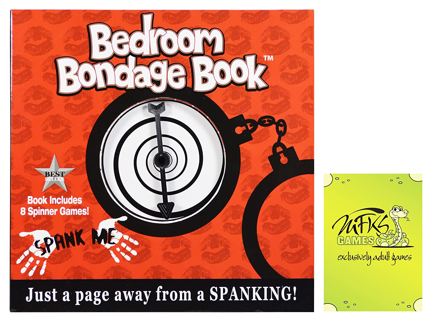 Amazon Com Bedroom Bondage Book Adult Board Game For Couples