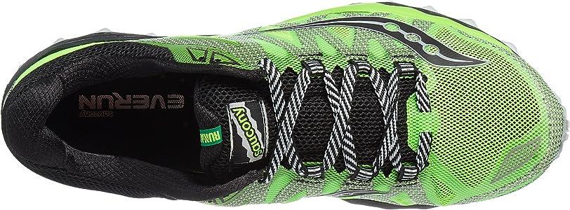 Saucony Peregrine 7, Zapatillas de Running para Asfalto para Hombre, Verde (Slime/Black), 40.5 EU: Amazon.es: Zapatos y complementos