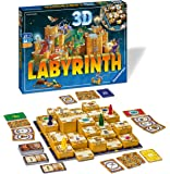 Ravensburger 3D Labyrinth Family Board Game for Kids & Adults Age 7 & Up - So Easy to Learn & Play with Great Replay…