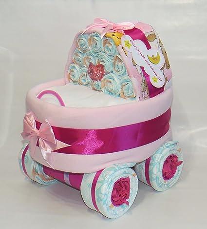 Pañales para tartas – Pañales Stuben carro Color Rosa