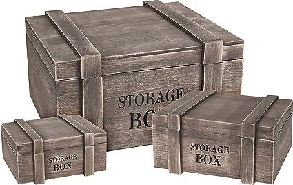 2 madera cajas de vino madera caja de fruta (Macetero decorativo caja Alt
