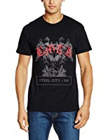 Rockoff Trade Herren T-Shirt Angels, Schwarz