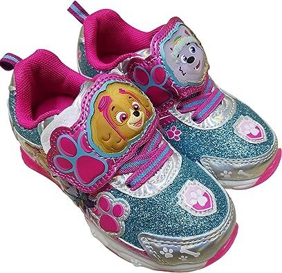 Paw Patrol Zapatillas Deportivas Para Niñas Con Skye Y Everest Shoes