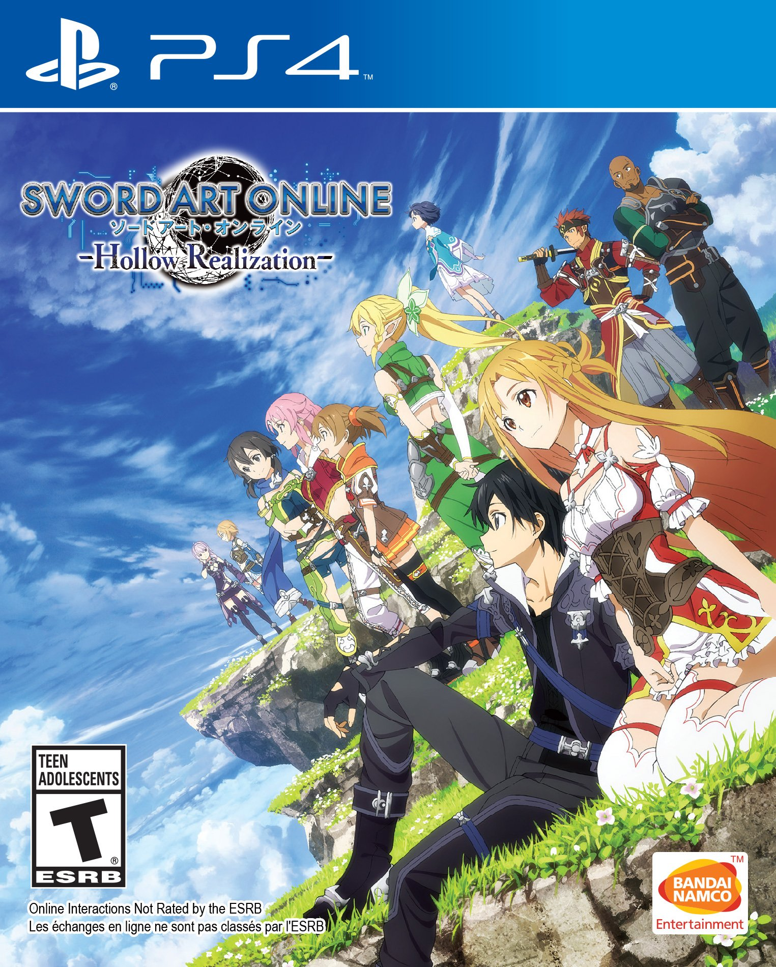 Sword Art Online: Hollow Realization - Playstation 4...