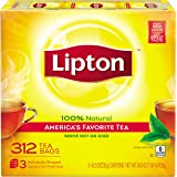 Lipton Black Tea Bags, America's Favorite Tea 312 ct