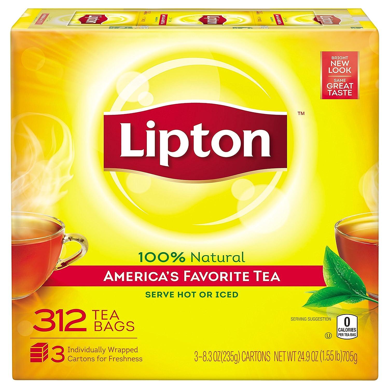 amazon com lipton black tea bags america u0027s favorite tea 312 ct
