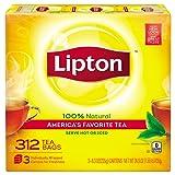 Amazon Price History for:Lipton Black Tea Bags, America's Favorite Tea 312 ct