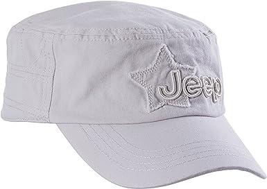 Jeep - Gorra Cuba para Hombre, Color Gris Claro, Talla única ...