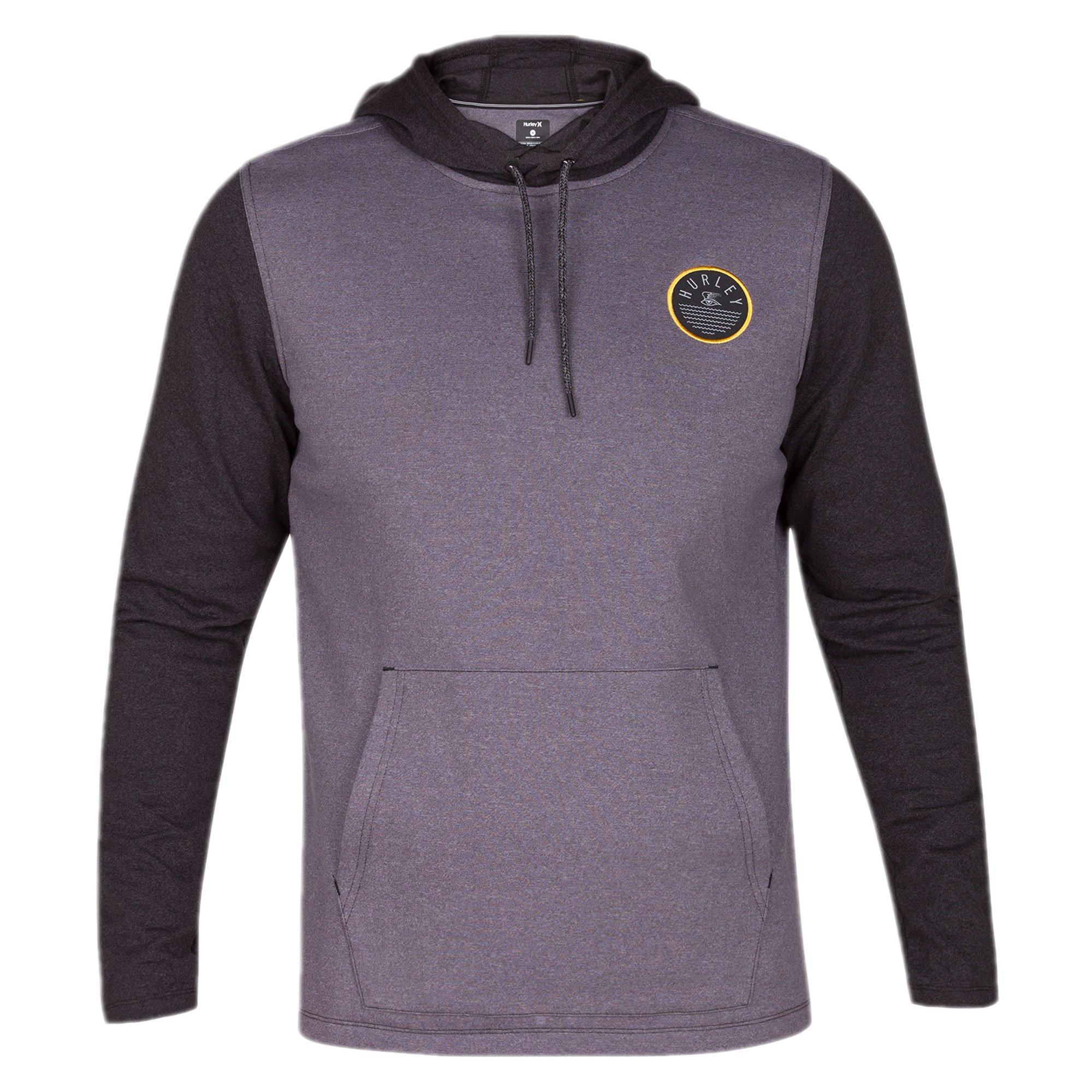 Hurley Men's 999 Hoodie Sweathshirts, Black (00A), Small
