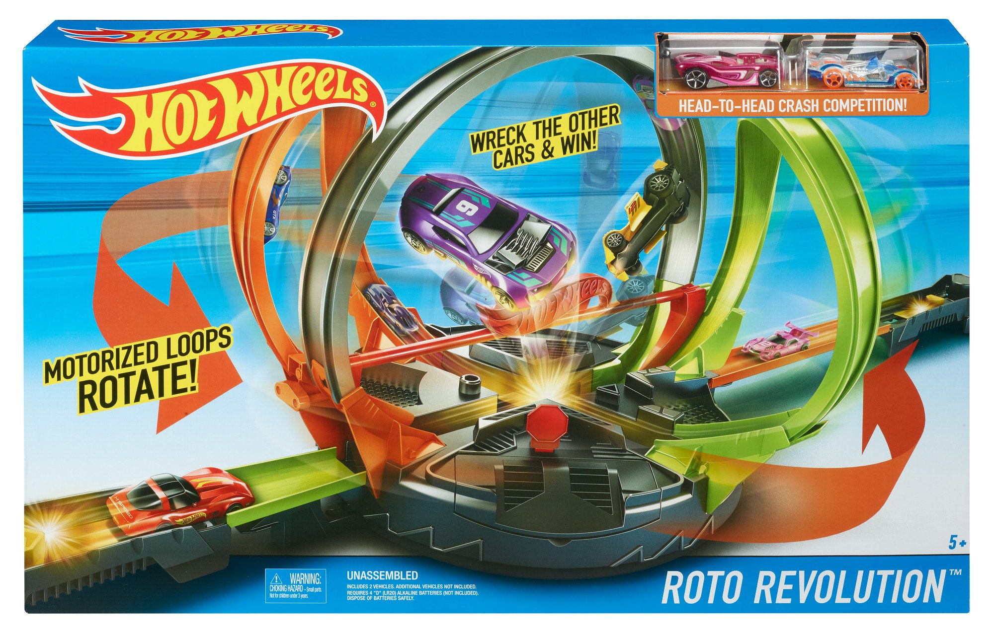 Hot Wheels Roto Revolution Track Playset by Hot Wheels (Image #6)