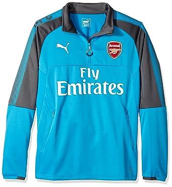 8425a72d512 Amazon.com  PUMA Men s Arsenal Fc 1 4 Training Top with Sponsor  Clothing