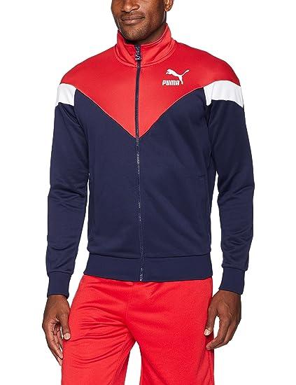 b15b56e6ec55 Puma Mens MCS Track Jacket  Amazon.co.uk  Clothing