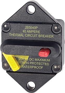 2 Blue Sea Brand Waterproof Circuit Breaker Boots for Push to Reset Breakers