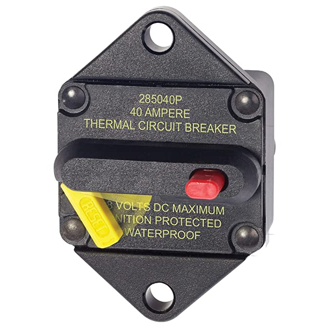Blue Sea Circuit Breaker Panel Mount 285 Series