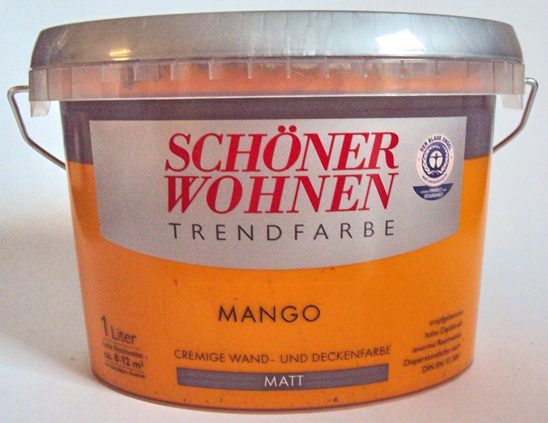 Schö ner Wohnen Trendfarben-Mango matt -1 l Schöner Wohnen