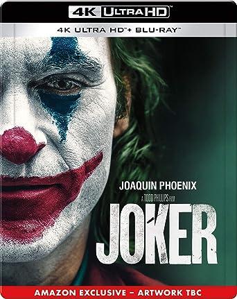 Joker Steelbook 2019 Region Free Blu Ray Amazon Co Uk