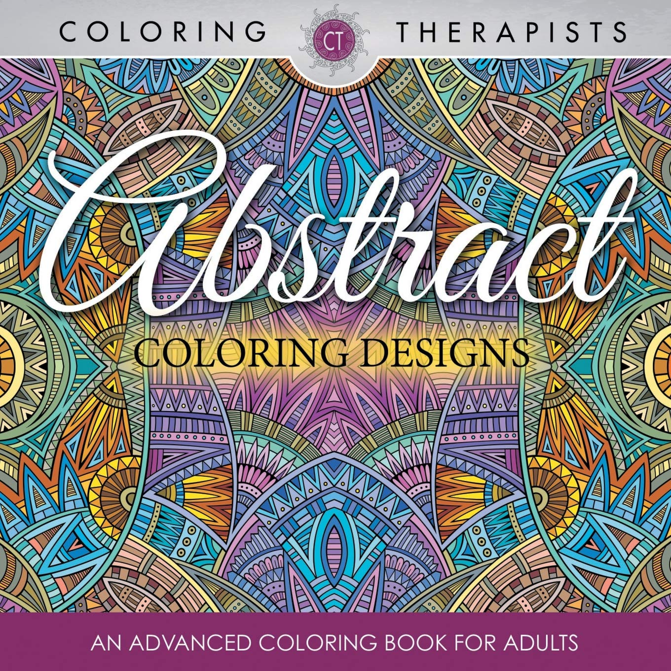 Amazon.com: Abstract Coloring Designs: An Advanced Coloring ...