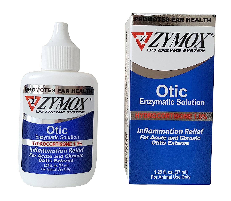 Amazon Pet King Brand Zymox Otic Pet Ear Treatment with