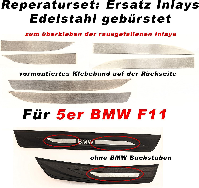 Einstiegsleisten Inlays Für Für 5er F10 F11 Aus Edelstahl Stil Blank Edel Auto