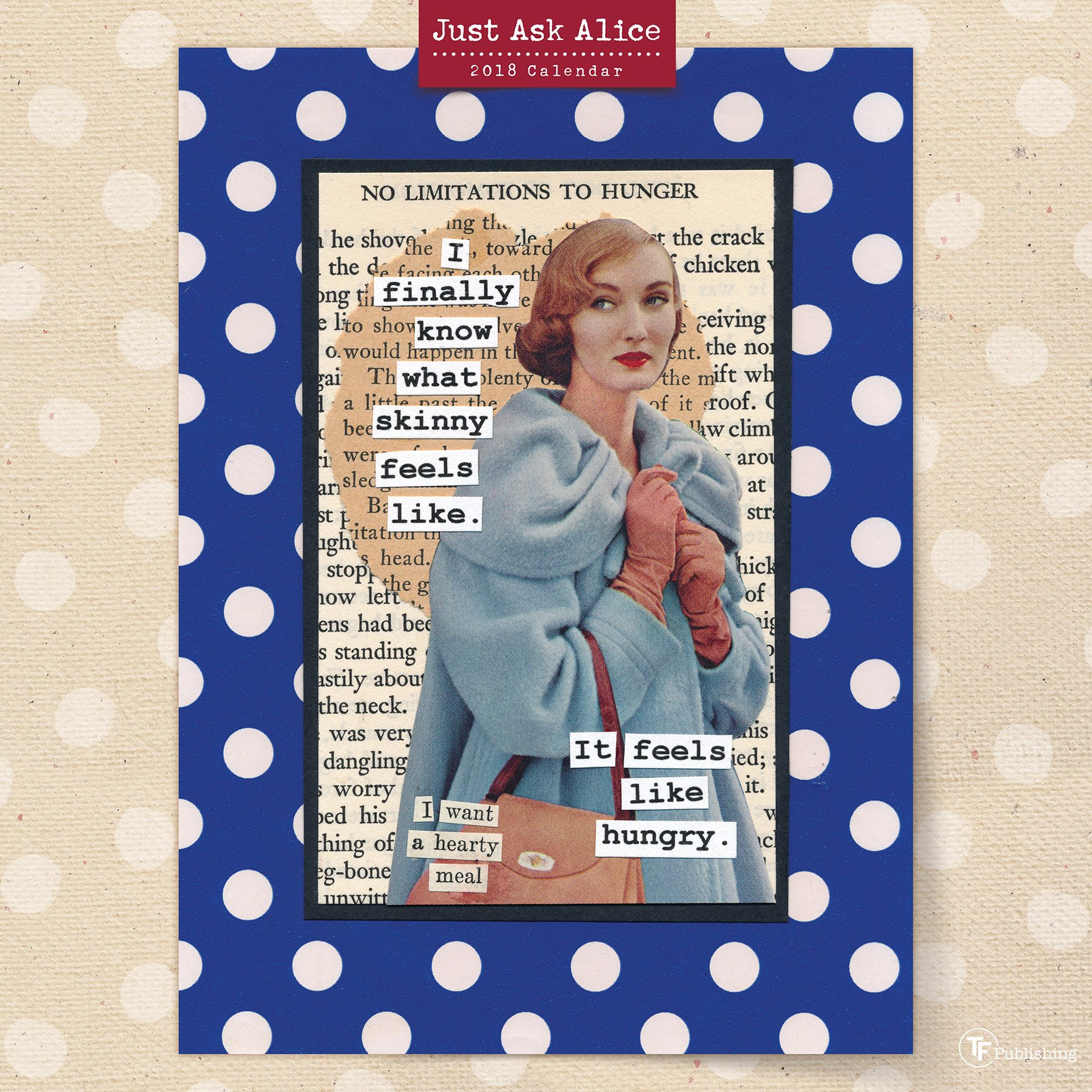 Read Online 2018 Just Ask Alice Wall Calendar PDF