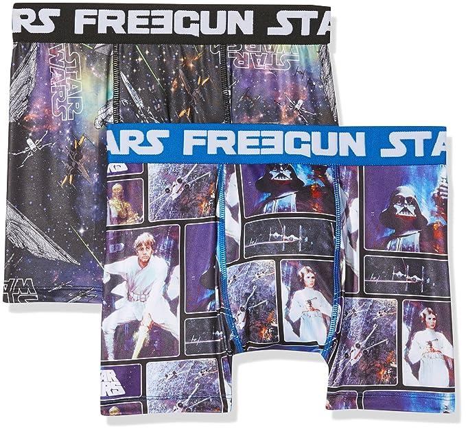 Star Wars Freegun, Bóxer para Hombre, A21, Small(Pack de 2)