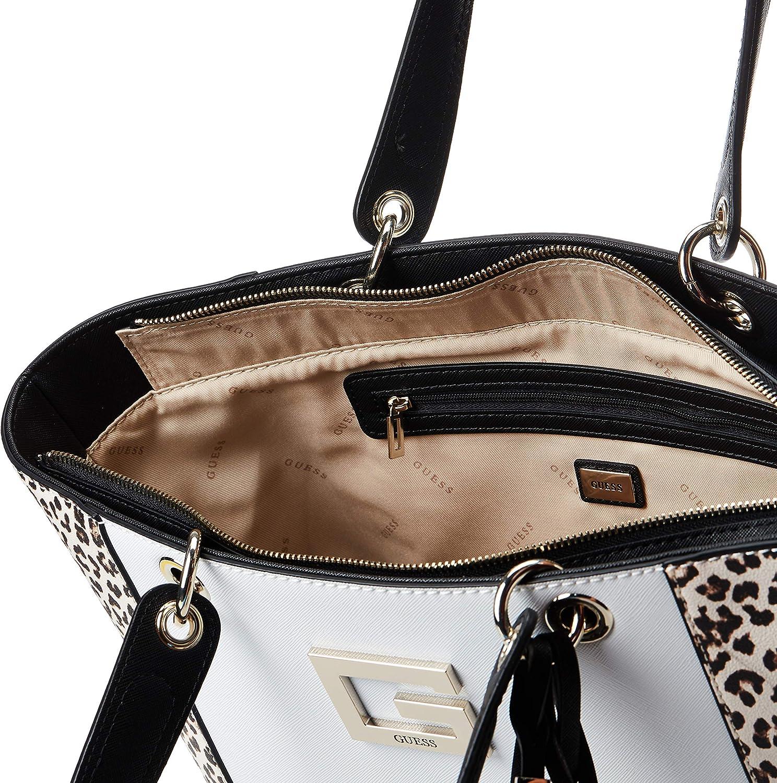 Leopardato Taglia Unica Guess Kamryn Tote Borsa a Tracolla da Donna